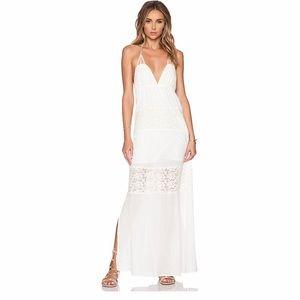 L*SPACE Goldie Maxi Dress in Ivory NWT Medium